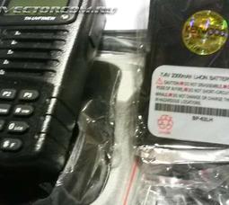 Портативная рация Kenwood TH-UVF5 двух-диапазонная 136-174/ 400-520МГц - фото 4