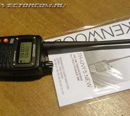 Портативная рация Kenwood TH-UVF5 двух-диапазонная 136-174/ 400-520МГц - фото 5