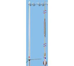 ANLI A-100 VHF, 5/8 х 1WAVE , 1150мм, 150-174МГц, 5МГц, 200Вт, 3.5dBi - фото 1