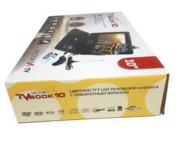 """Портативный медиаплеер Vector  ТВ DVD  Book 10"""" с поворотным экраном 270°  DVD+ цифровое TV  - фото 15"""