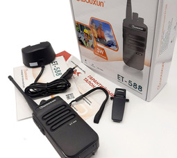 Радиостанция носимая Wouxun ET-588U 3Вт (400-470 МГц) Акб 1200 mAh - фото 6