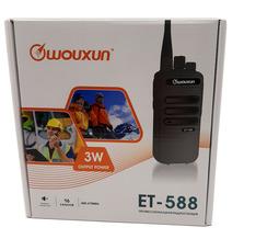 Радиостанция носимая Wouxun ET-588U 3Вт (400-470 МГц) Акб 1200 mAh - фото 9