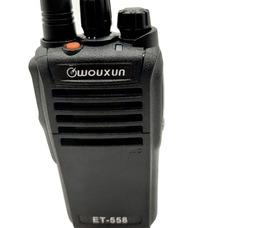 Радиостанция носимая Wouxun ET-558U 4 Вт (400-470 МГц) Акб 2200 mAh