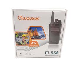 Радиостанция носимая  Wouxun ET-558U 4 Вт (400-470 МГц) Акб 2200 mAh - фото 10
