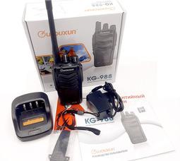 Радиостанция носимая Wouxun KG-988 до 6Ватт, UHF 400-480МГц - фото 8