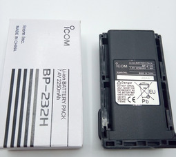 Аккумулятор BP-232Н Li-on 7, 4в 2250мAh АКБ для Icom - фото 1
