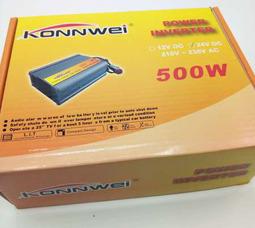 KONNWEI 500 Преобразователь Вх.24V-Вых.220V 500 Вт +5в USB - фото 1