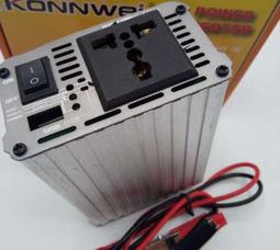 KONNWEI 500 Преобразователь Вх.24V-Вых.220V 500 Вт +5в USB - фото 3