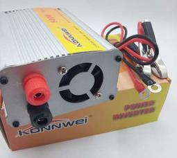 KONNWEI 500 Преобразователь Вх.24V-Вых.220V 500 Вт +5в USB - фото 4