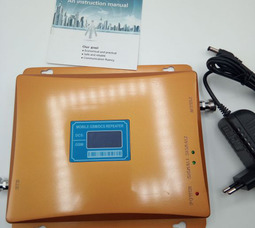 DCS+GSM Усилитель 900 / 1800 МГц до 250-300 метров - фото 1