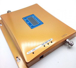 DCS+GSM+3G Усилитель 900 / 1800 / 2100 МГц до 250-300 метров