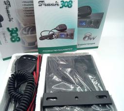 Автомобильная радиостанция Track 308 СВ27 МГц, 8 Вт, 12/24В   - фото 2
