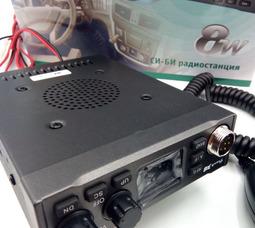 Автомобильная радиостанция Track 308 СВ27 МГц, 8 Вт, 12/24В   - фото 5