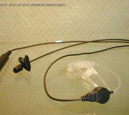TA-5141(GA-10C) – 3-х проводная гарнитура скрытого ношения с воздуховодом - фото 2