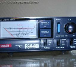 фото ROGER RSM 600 1,8 – 160, 140-525 МГц, 200 – 400Вт