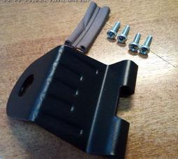 Кронштейн на багажник, стальное, черное   - фото 3
