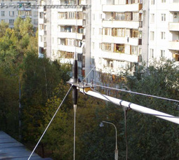фото БА - 27, Антенна балконная, 27 МГц